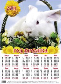 2011 ГОД - ГОД БЕЛОГО КРОЛИКА