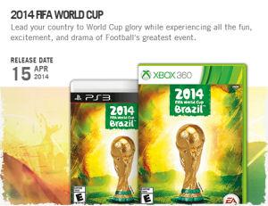 ВИДЕИГРА 2014 FIFA WORLD CUP BRAZIL