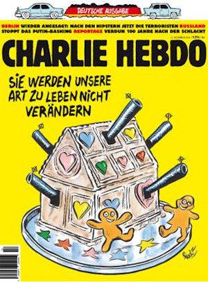 CHARLIE HEBDO - ТРАГЕДИЯ В БЕРЛИНЕ
